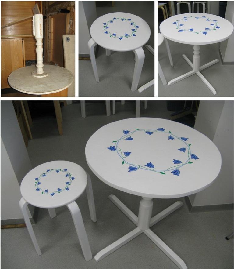 Laud ja taburet